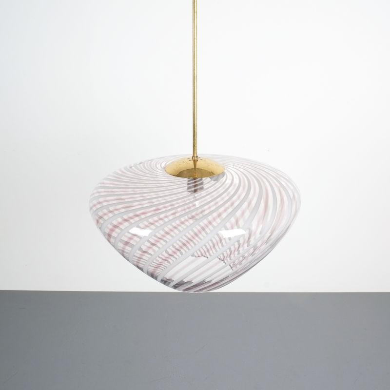 Murano Pendant Swirl Glass 04