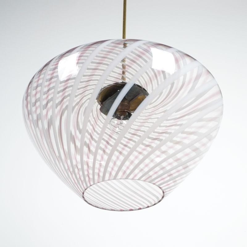 Murano Pendant Swirl Glass 08