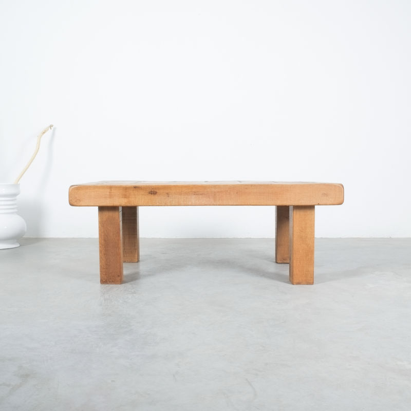 Oak Terracotta Table France 03