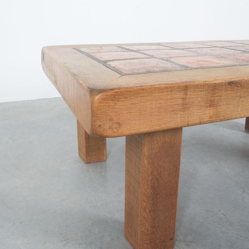 Oak Terracotta Table France 04