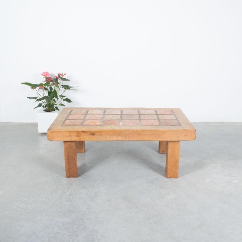 Oak Terracotta Table France 045