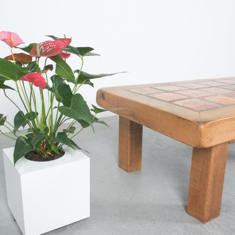 Oak Terracotta Table France 06