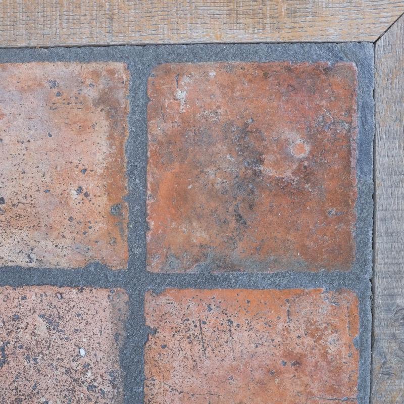 Oak Terracotta Table France 07
