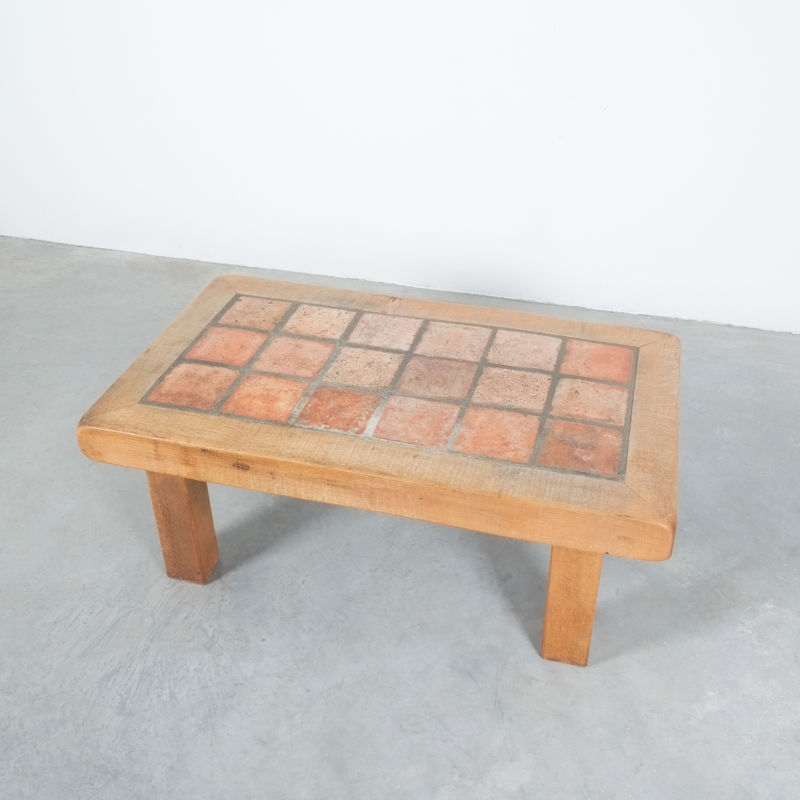 Oak Terracotta Table France 08