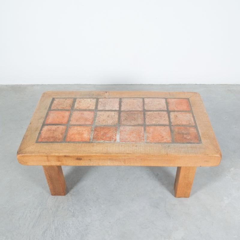 Oak Terracotta Table France 09