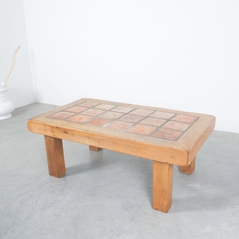 Oak Terracotta Table France 10
