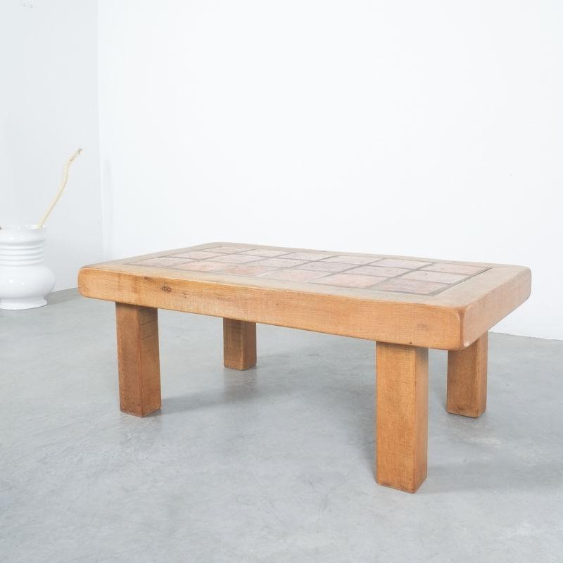 Oak Terracotta Table France 11