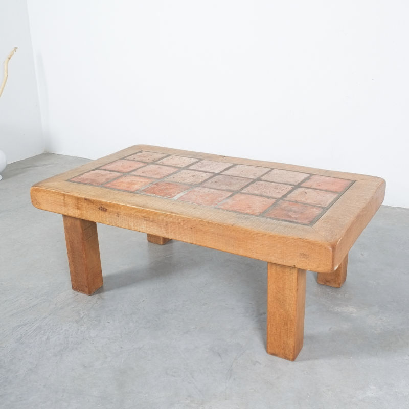 Oak Terracotta Table France 12