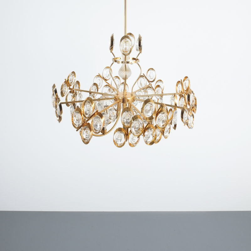 Oval Crystal Palwa Chandelier 03