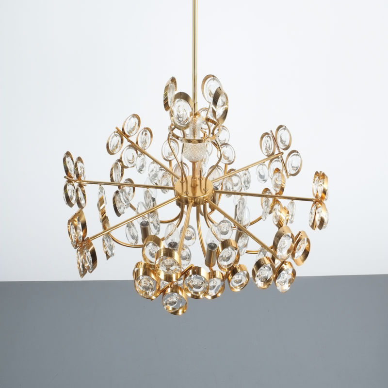 Oval Crystal Palwa Chandelier 04