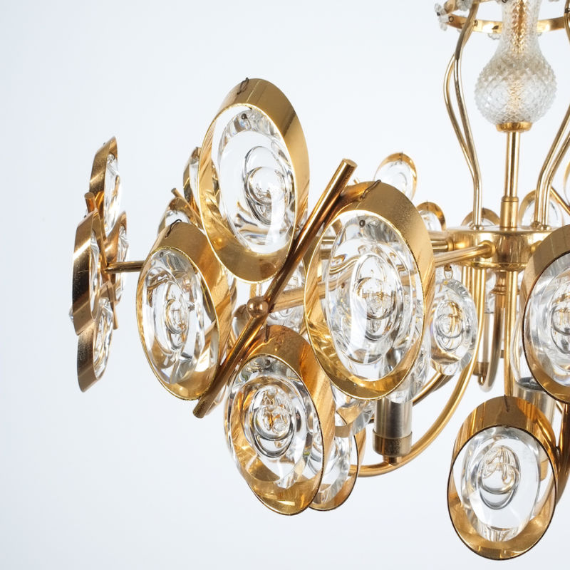 Oval Crystal Palwa Chandelier 05