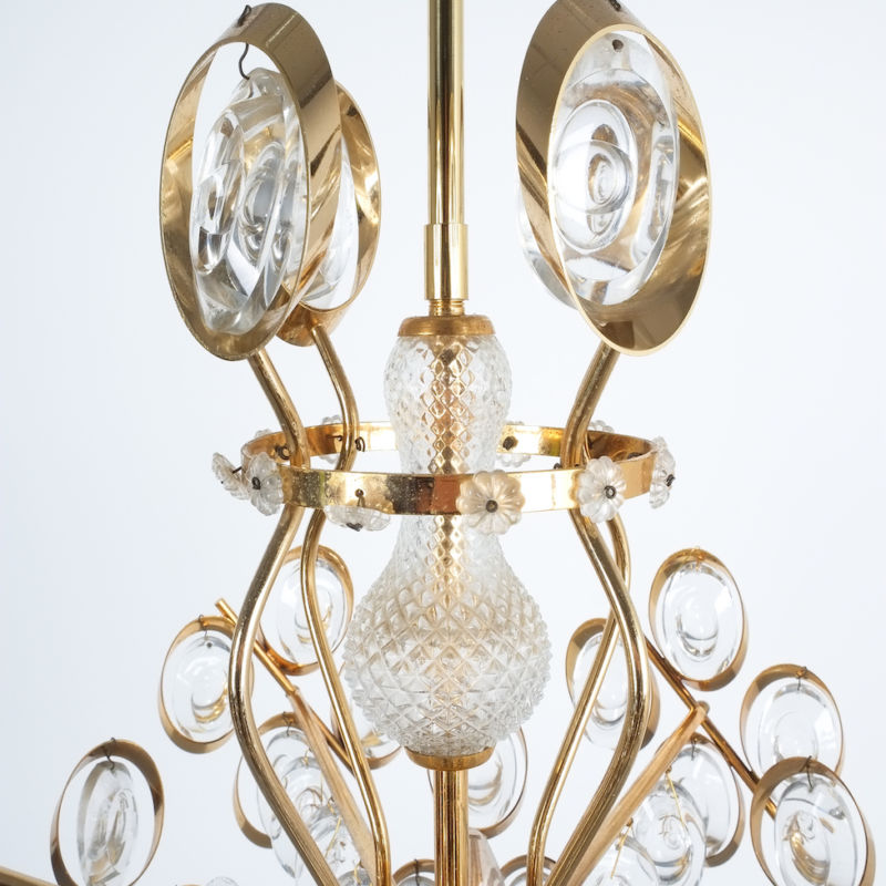 Oval Crystal Palwa Chandelier 06