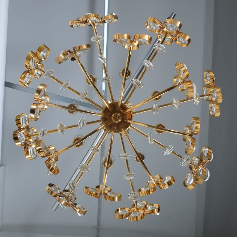 Oval Crystal Palwa Chandelier 07