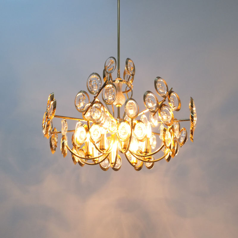 Oval Crystal Palwa Chandelier 08