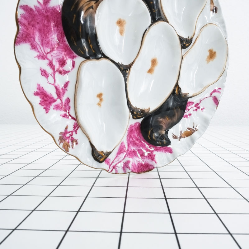 Oyster Plates Limoges 08