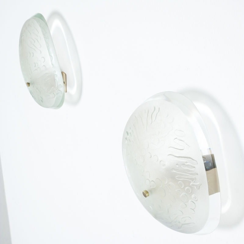 Pair Ingrand Fontana Arte Sconces 04