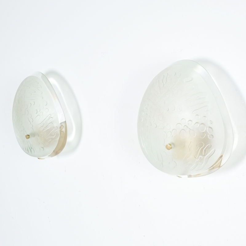 Pair Ingrand Fontana Arte Sconces 08