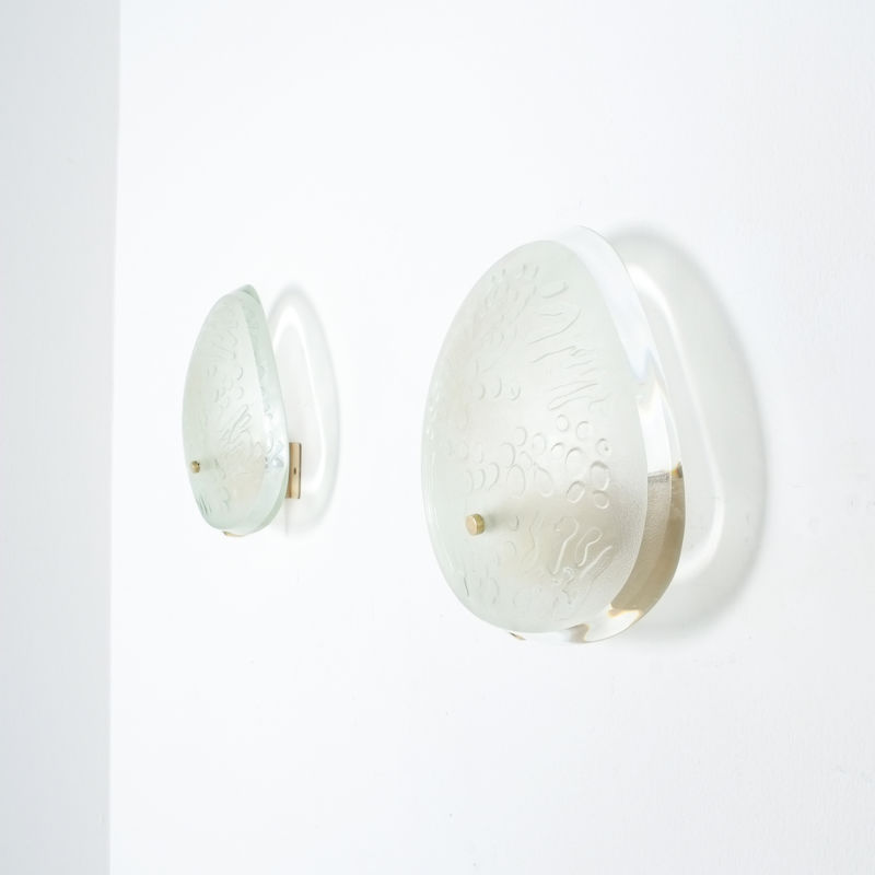 Pair Ingrand Fontana Arte Sconces 19