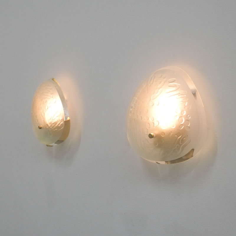 Pair Ingrand Fontana Arte Sconces 22