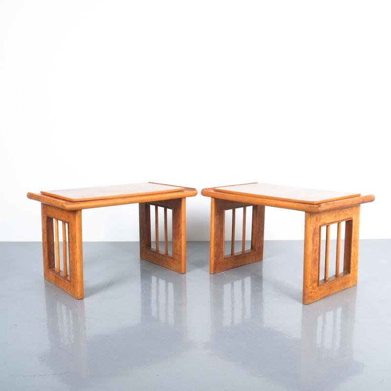 pair art deco nightstands side tables_01