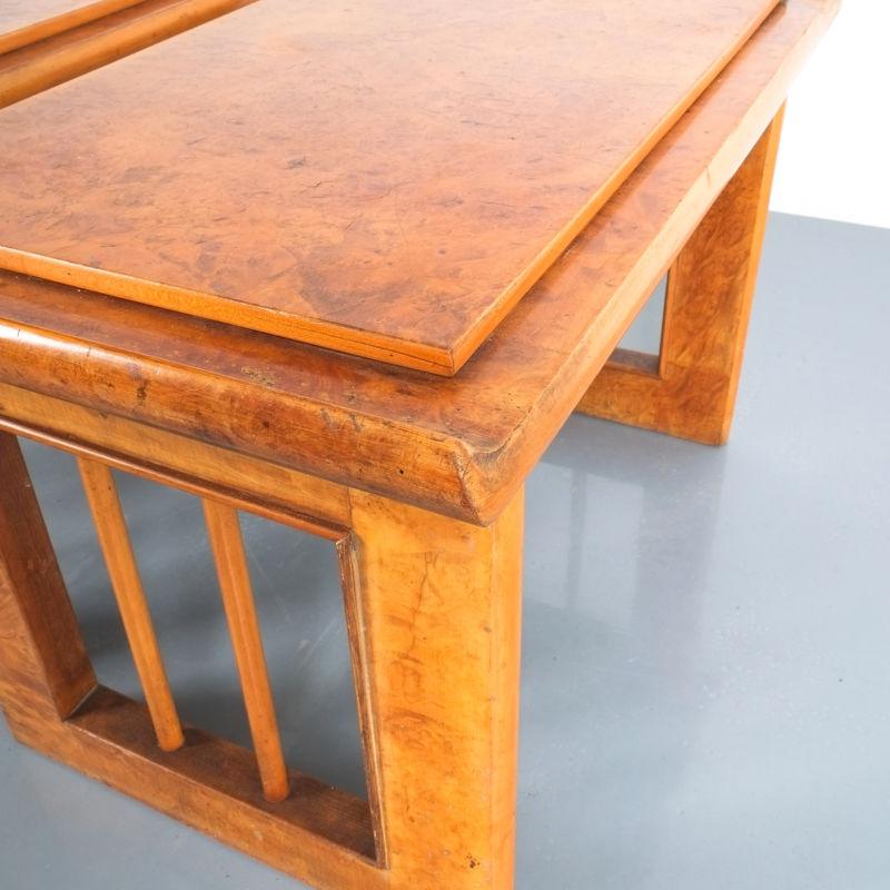 pair art deco nightstands side tables_05