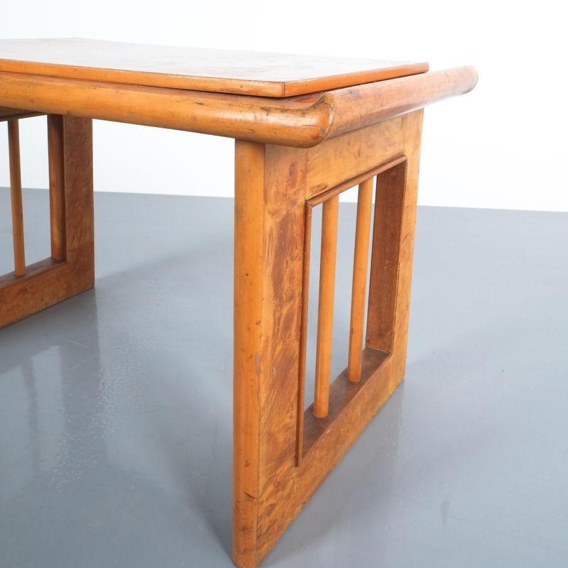 pair art deco nightstands side tables_08
