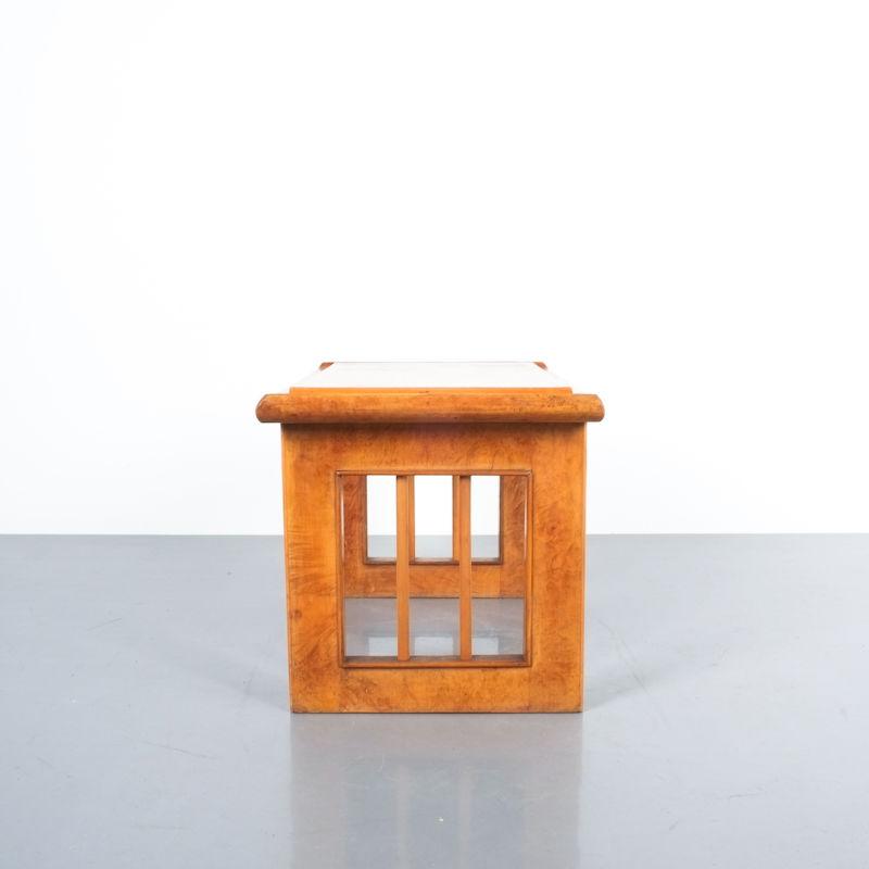 pair art deco nightstands side tables_11