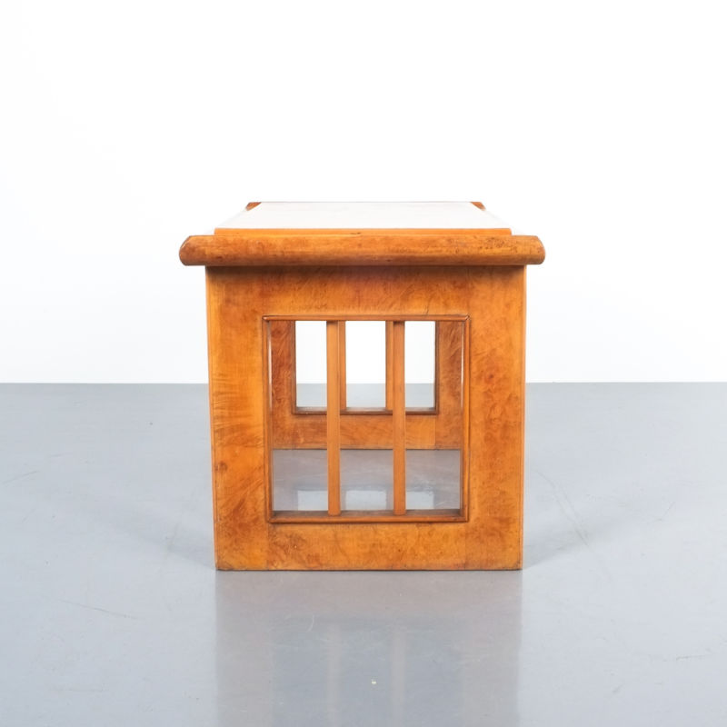 pair art deco nightstands side tables_12