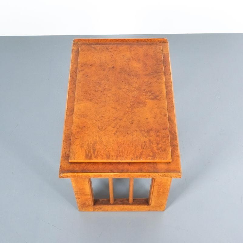 pair art deco nightstands side tables_14