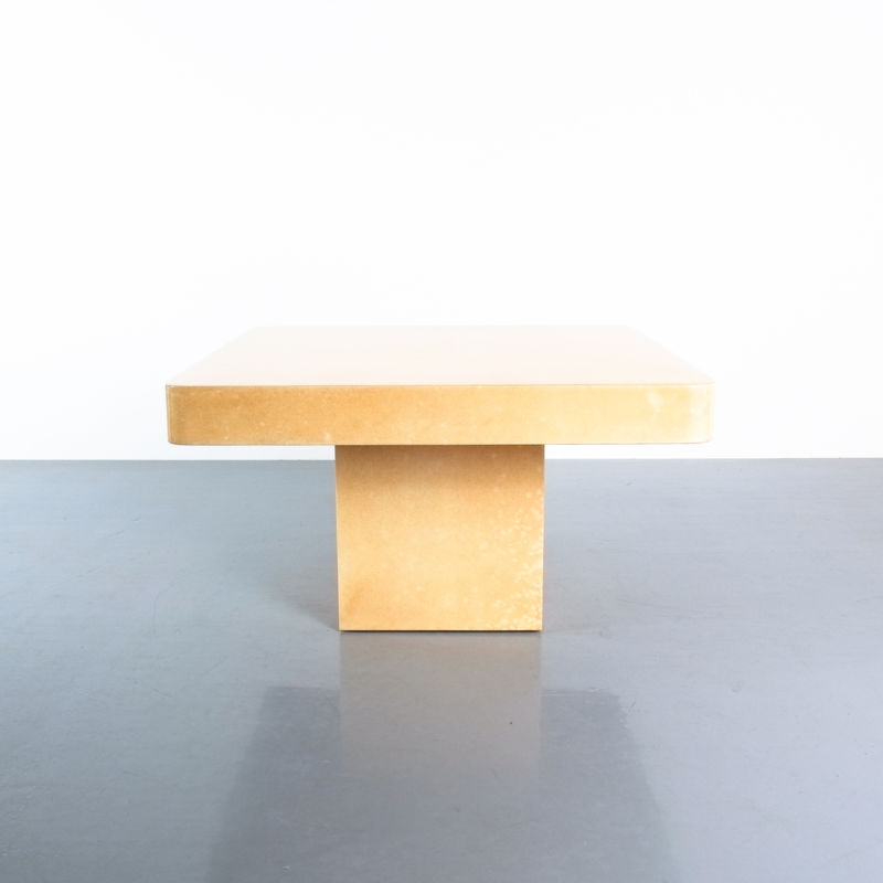 Pair Parchment Tura Coffee Tables 04