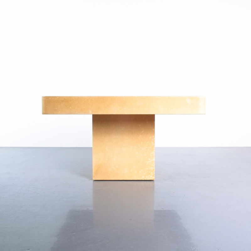 Pair Parchment Tura Coffee Tables 05