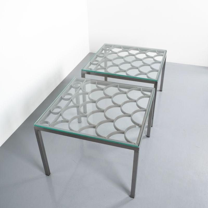 Peter Preller Iron Side Table 06