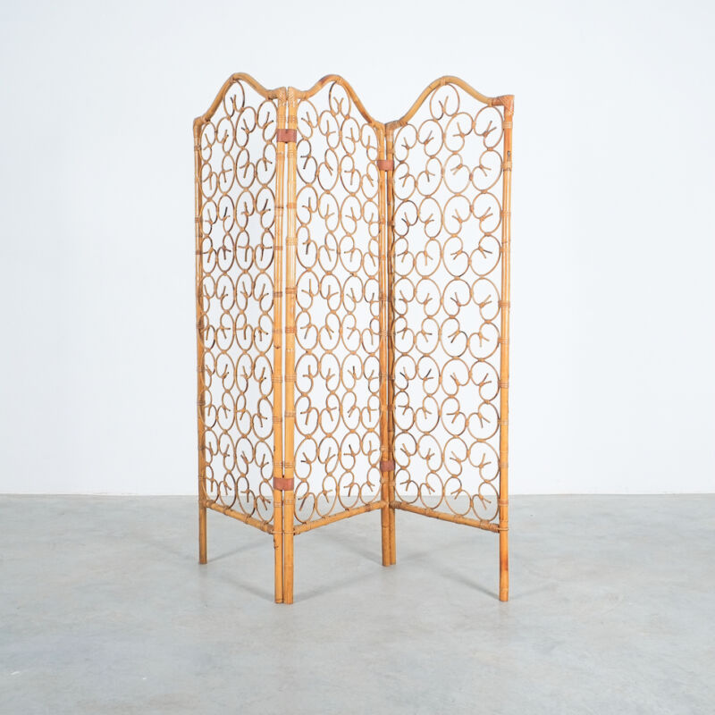 Rattan Screen Room Divider 1970 07