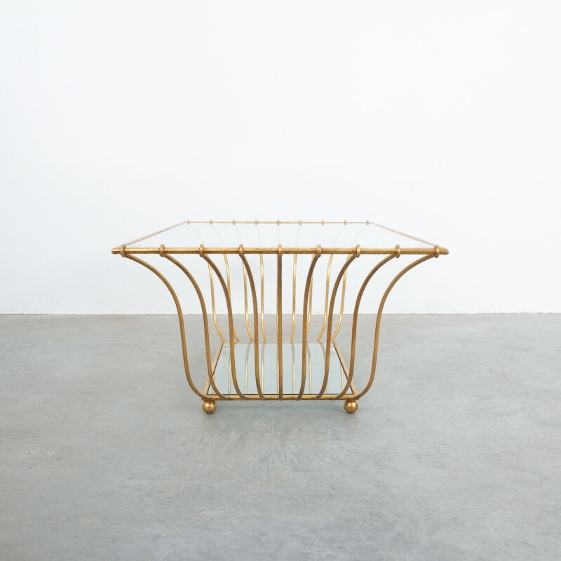 Royere Style Large Golden Table 04
