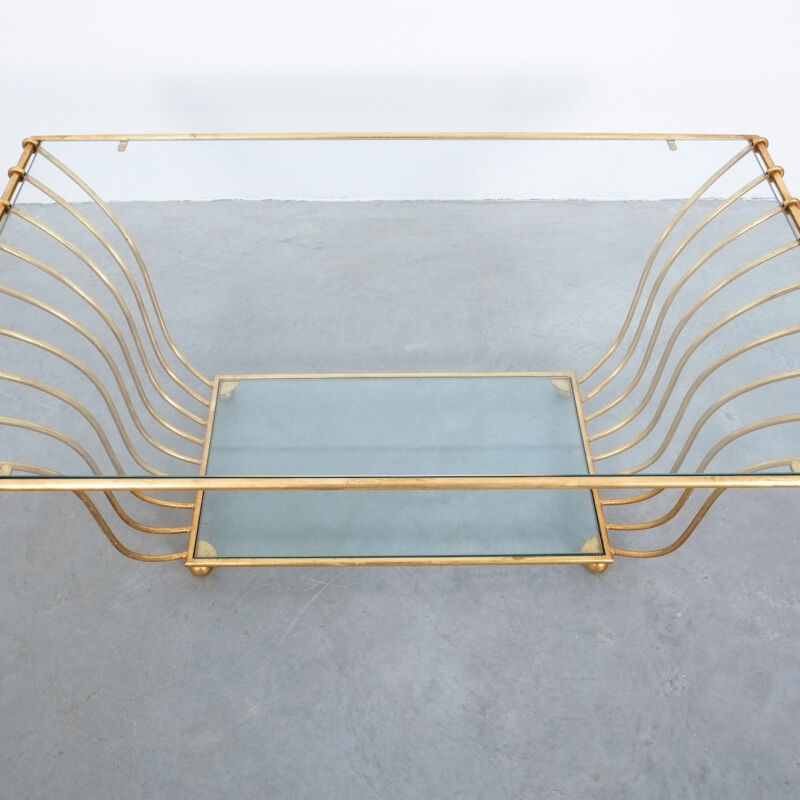 Royere Style Large Golden Table 07
