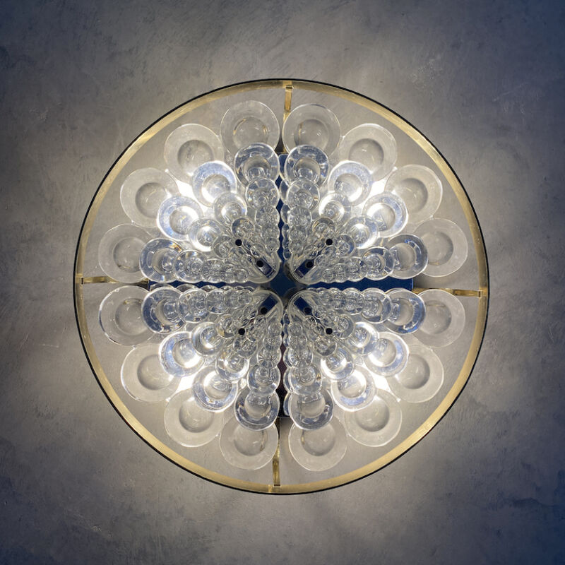 Sciolari Flush Mount Palwa Crystal 02