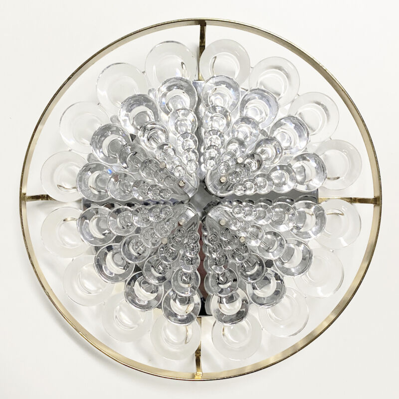 Sciolari Flush Mount Palwa Crystal 06
