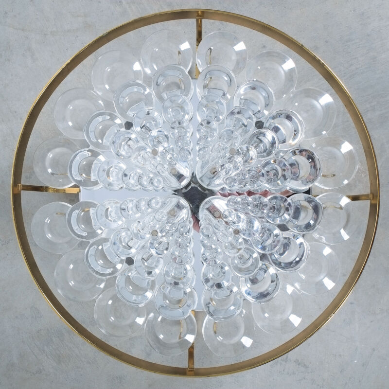 Sciolari Flush Mount Palwa Crystal 07
