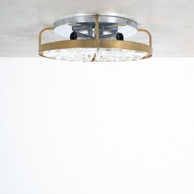 Sciolari Flush Mount Palwa Crystal 11