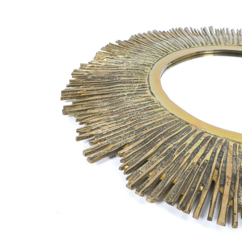 Solid Brass Mirror 60cm