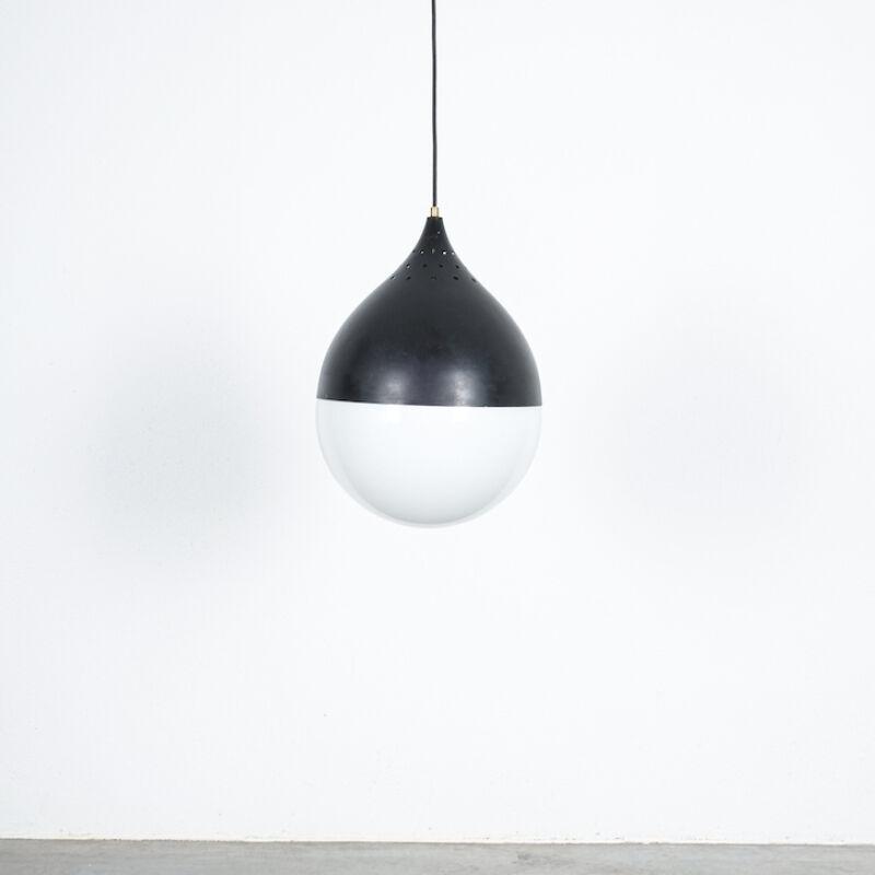 Stilnovo Glass Satin Ball Lamp 01