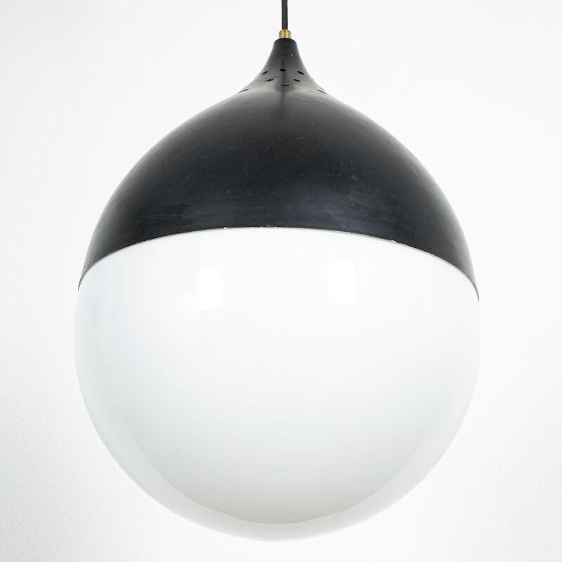 Stilnovo Glass Satin Ball Lamp 05