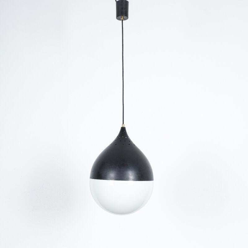 Stilnovo Glass Satin Ball Lamp 07