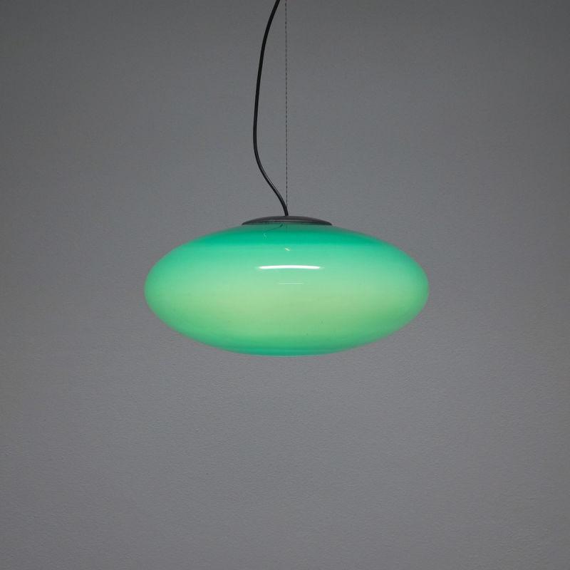 Stilnovo Green Glass Pendant 02