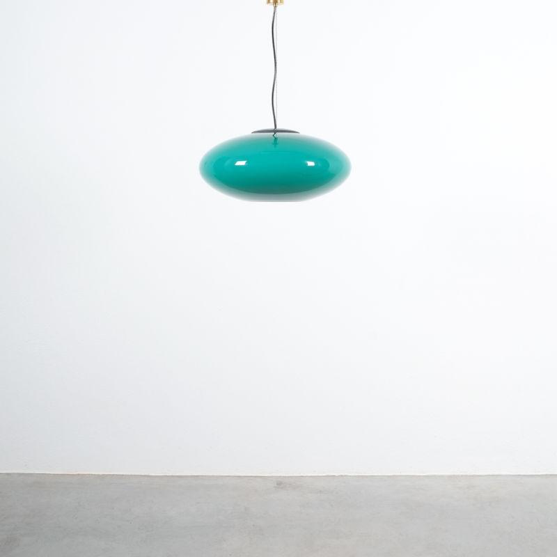 Stilnovo Green Glass Pendant 03