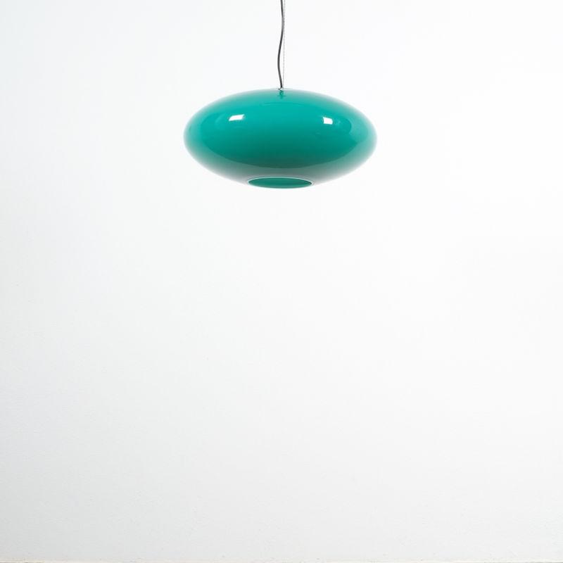 Stilnovo Green Glass Pendant 04