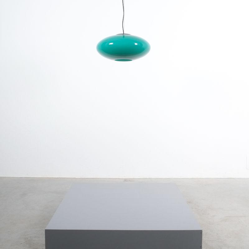 Stilnovo Green Glass Pendant 06