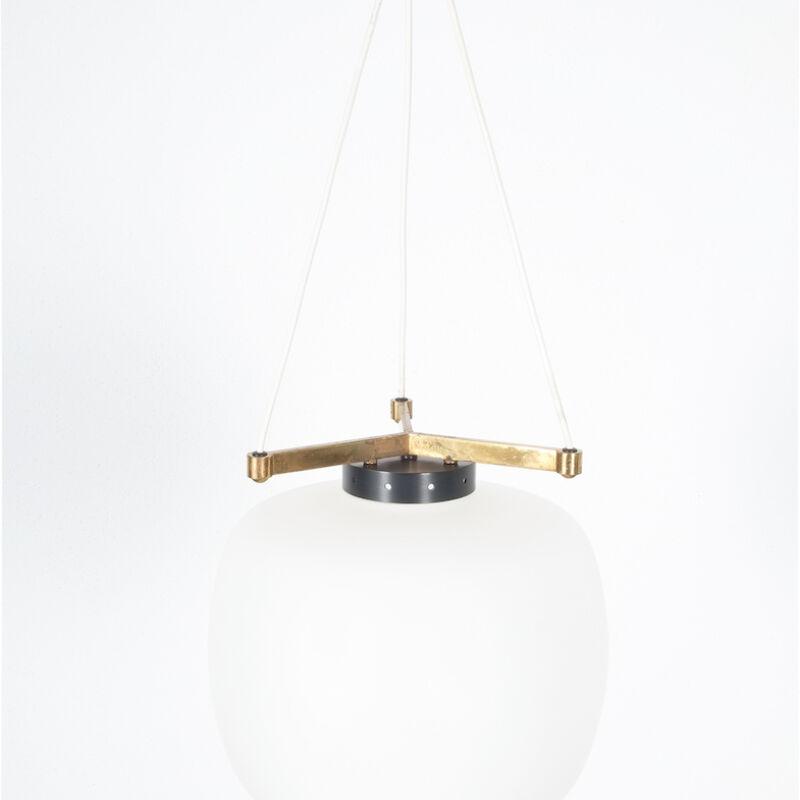 Stilnovo Three Arm Opal Glass Lamp 02