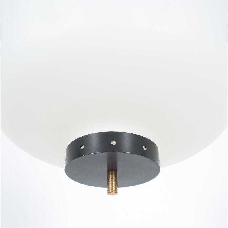 Stilnovo Three Arm Opal Glass Lamp 06