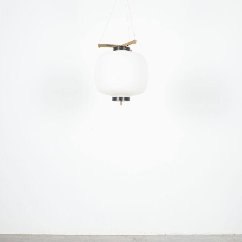 Stilnovo Three Arm Opal Glass Lamp 10